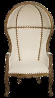 Dome-chair-zinc-door