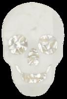 Skull-marble-cheese-board