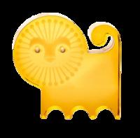 Lucite-lion-jonathan-adler