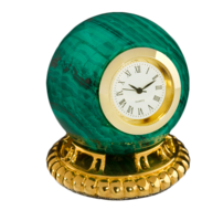 Malachite-clock