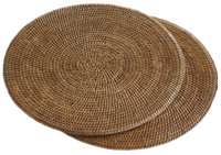 Round-rattan-placemats