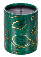 Malachite-candle