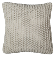 Chunky-knit-pillow