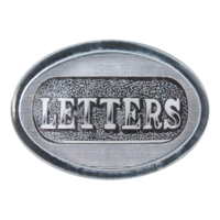 Letters-paperweight