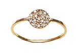 Small-circle-pave-ring