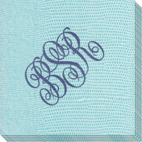 Aqua-lizard-caspari-napkins-the-stationery-studio