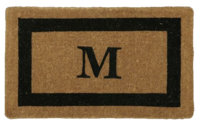 Monogram-doormat-pottery-barn