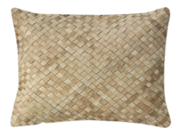 Woven-leather-hide-pillow-williams-sonoma-2