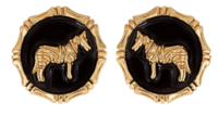 Zebra-earrings