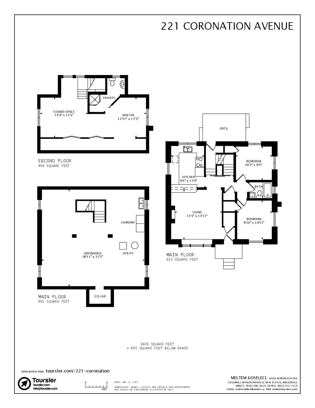 221 coronation avenue For221 Armstrong Floor Plans