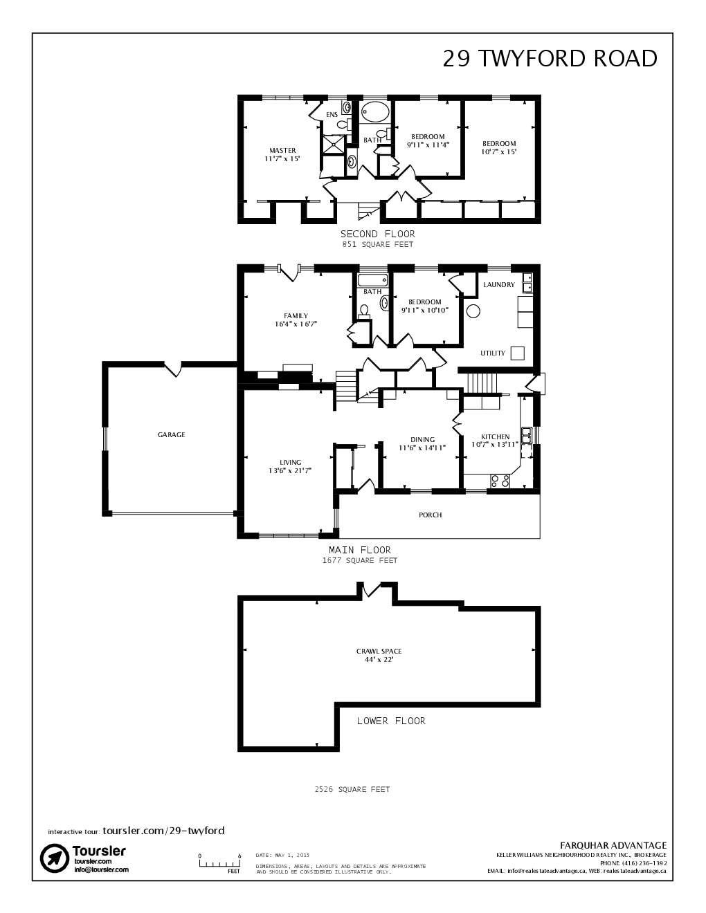 29 twyford road for Backsplit floor plans
