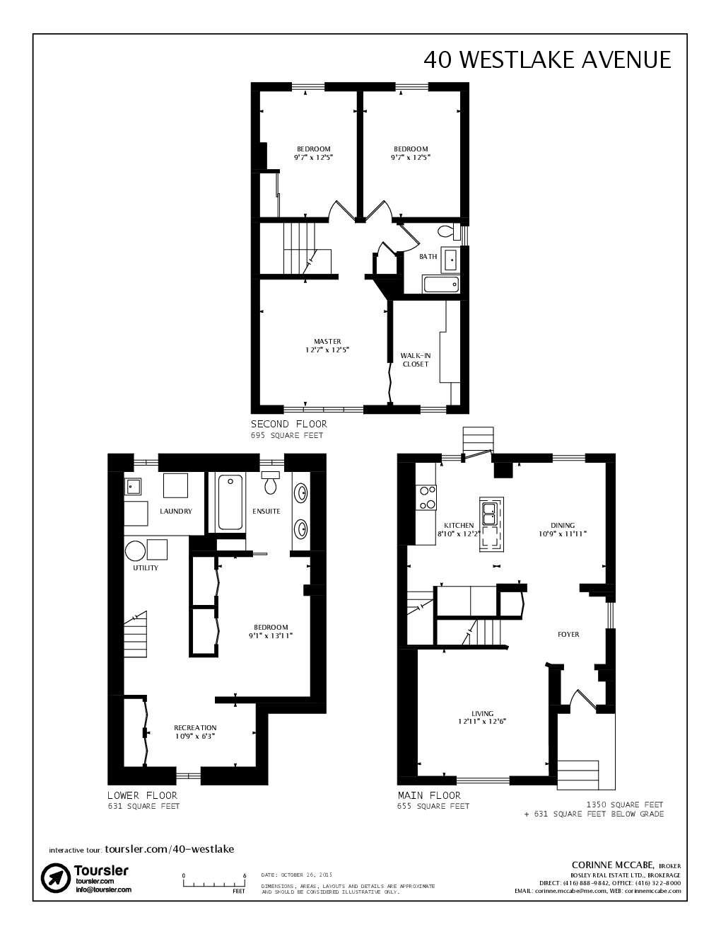 40 westlake avenue for Westlake floor plan