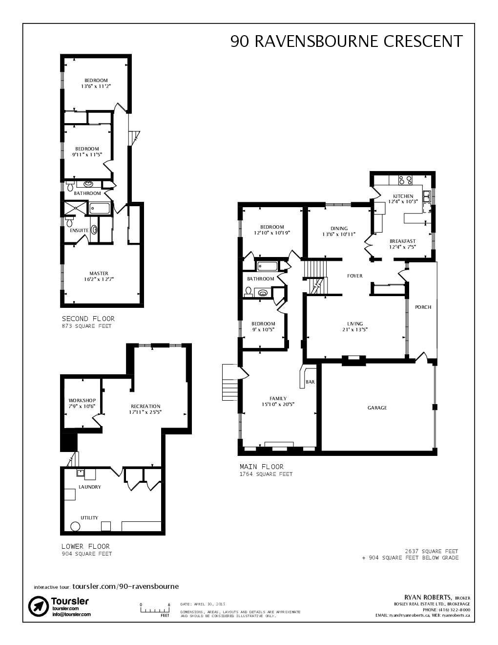 90 ravensbourne crescent for Backsplit floor plans