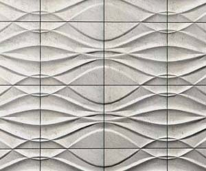 Sculptural Stone Wall Panels