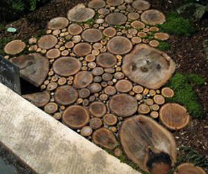 ... wood-slice-walkway-m.jpg?1245246575 & Round Wood Pavers - General Woodworking Talk - Wood Talk Online