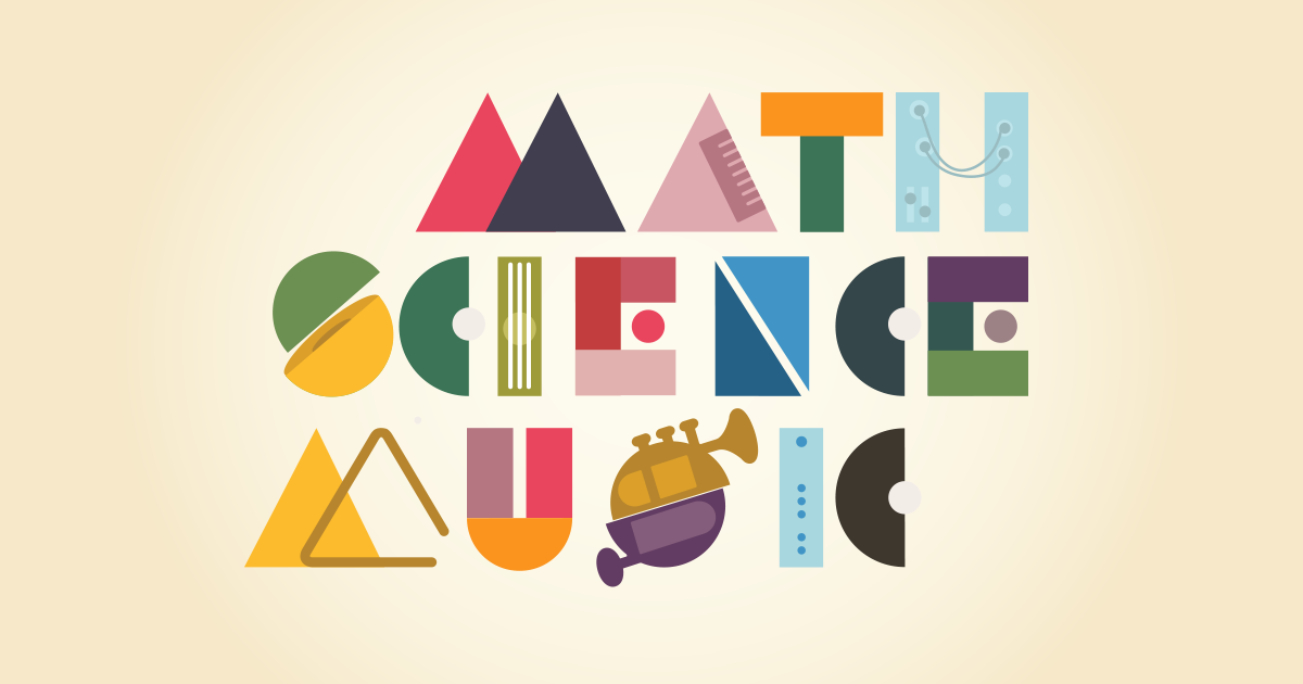 Image result for math science music