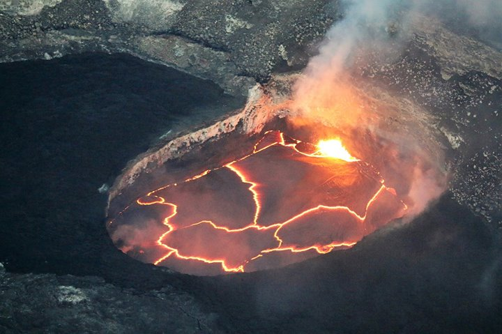 Active Volcano Flightseeing Tour