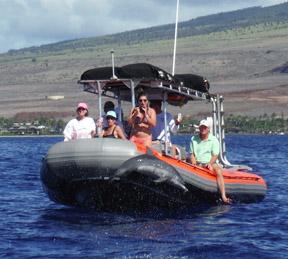 Product Full Day Lana'i Rafting Snorkel