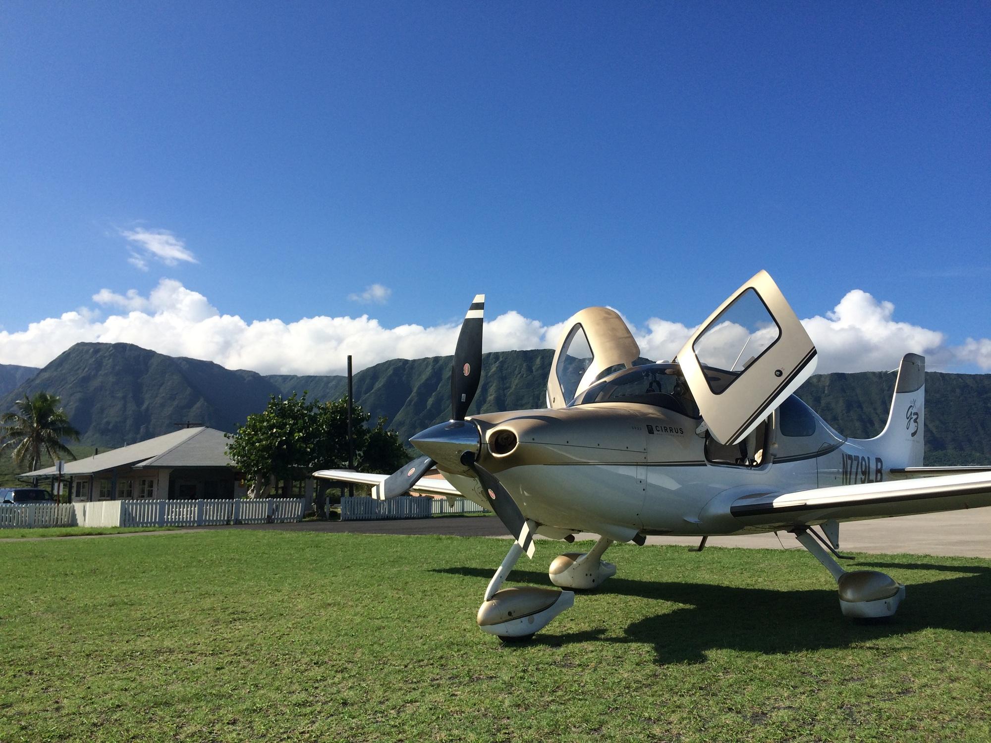 Fly Your Own Plane To Molokai