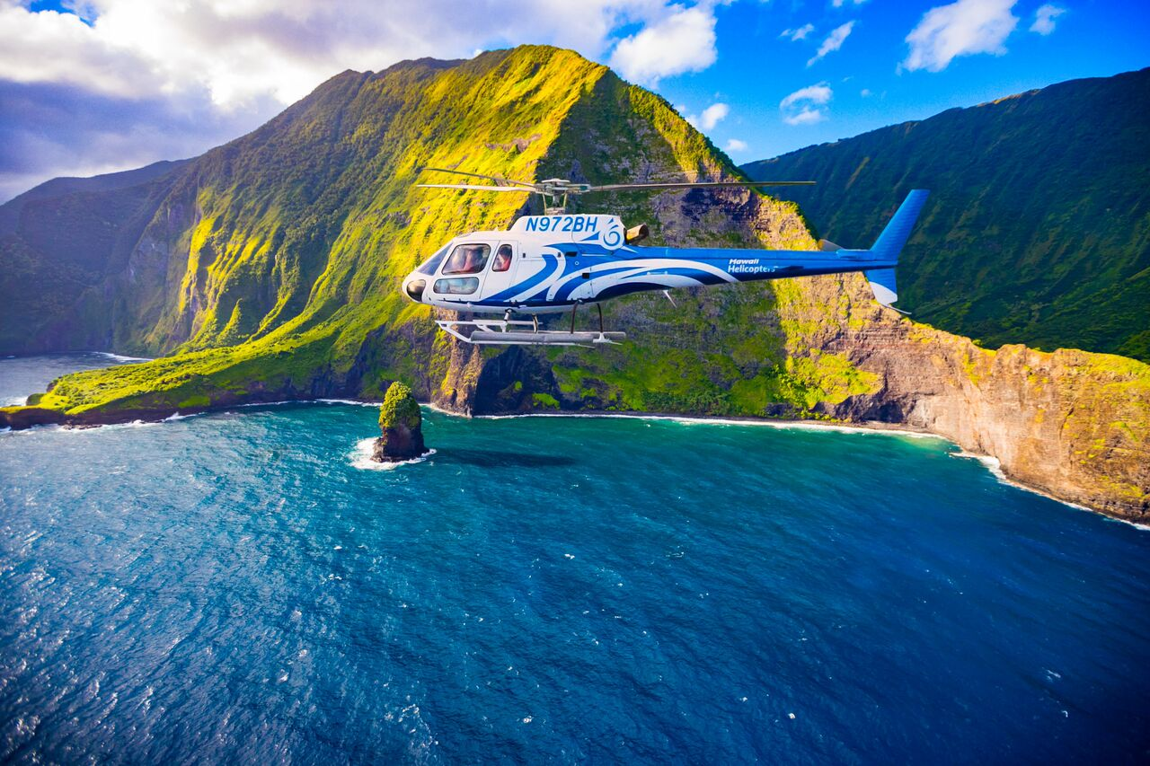 Product West Maui & Molokai Helicopter