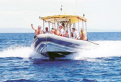 Product Private Lanai Raft Snorkel