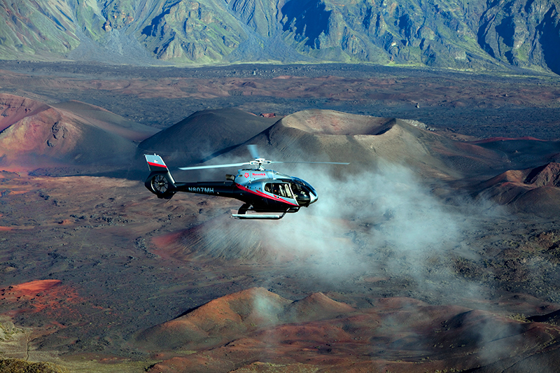 Hana & Halekala 40-50 Minute Deluxe Helicopter