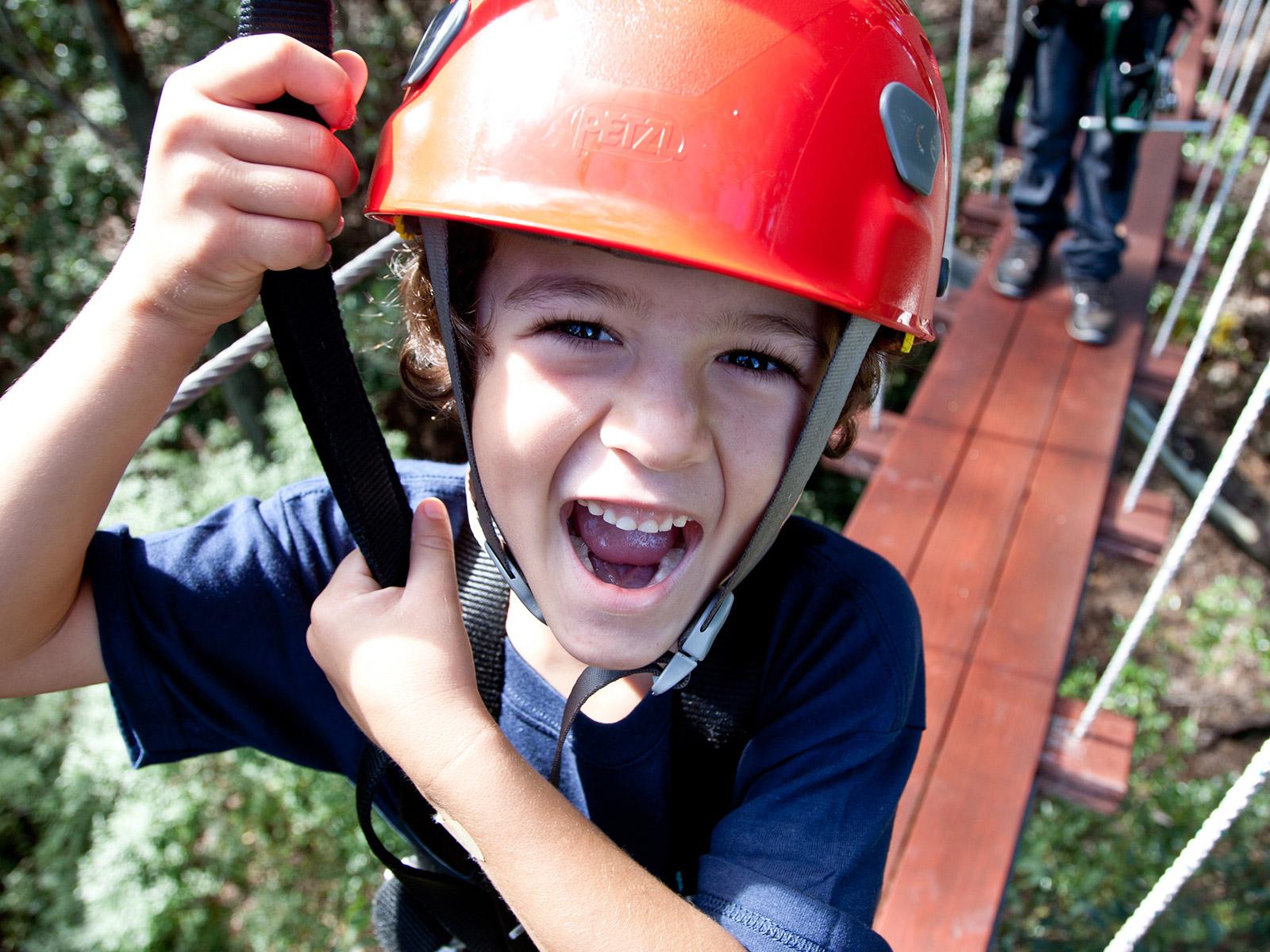 Upcounty Canopy 6 Line Zipline