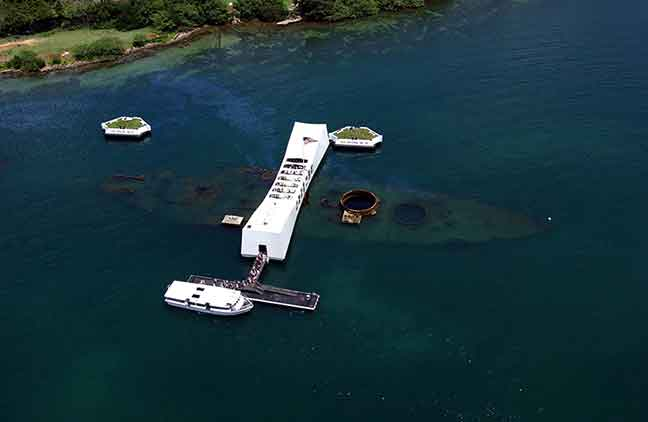 Product Pearl Harbor Tour From Kapalua