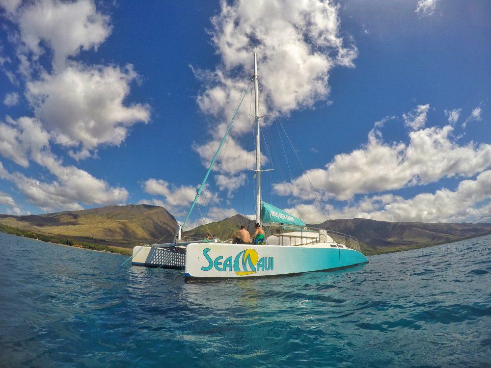 Product Private Catamaran West Maui Snorkel
