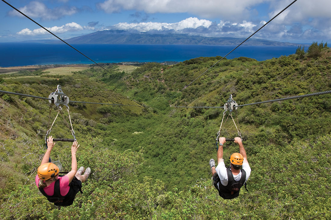Product Private Kapalua Zipline
