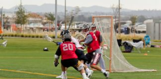 Nick Bauer (Mater Dei) will wear no. 33 for Princeton Men's Lacrosse.