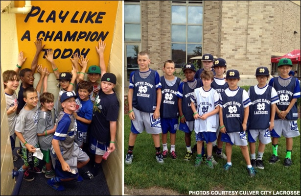 Culver City at Notre Dame Camp