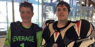 Josh Bettger and Cullen Murray, Leverage Lacrosse