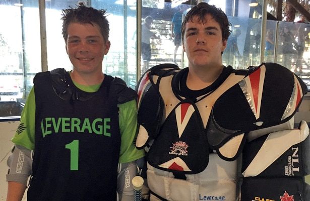 Josh Bettger and Cullen Murray, Leverage Lacrosse