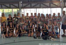 Leverage vs. Black Cat girls box lacrosse