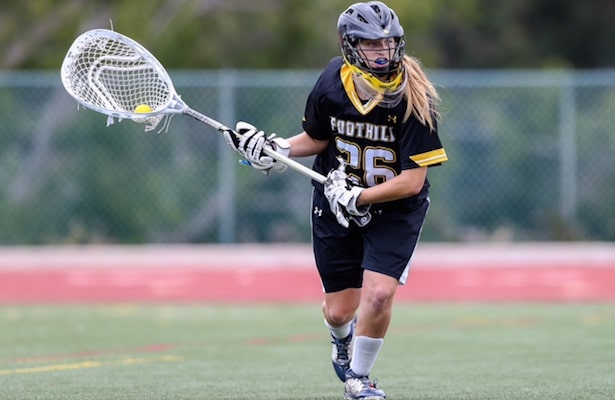 Hannah Upshaw, Foothill Girls Lacrosse, class of 2016