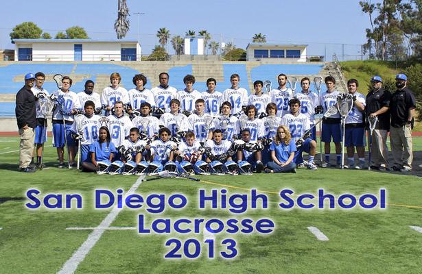 San Diego High School 2013 team