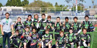 Leverage Middle School A, LA Winter League champs