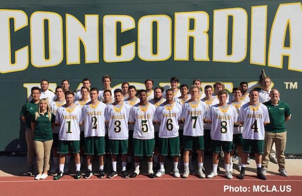 Concordia lacrosse, Dillon Bernard, Max Satossky, Brandon Mayo, Robbie Romero, Chase Matranga