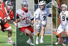 L.A. All-Americans: Shane Sharp, Jarrett Jones, Sean Smith, Joe Theuer; Greater LA South All-Area