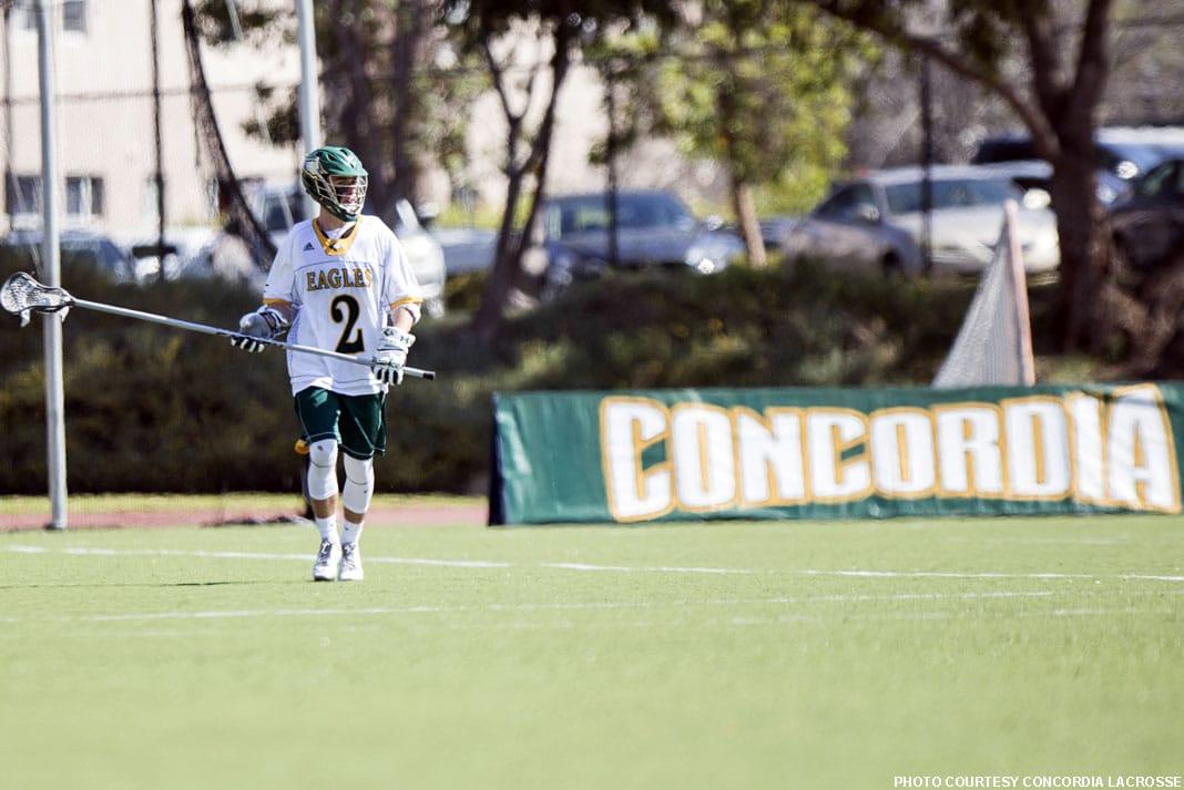 Jake Pense, Concordia lacrosse