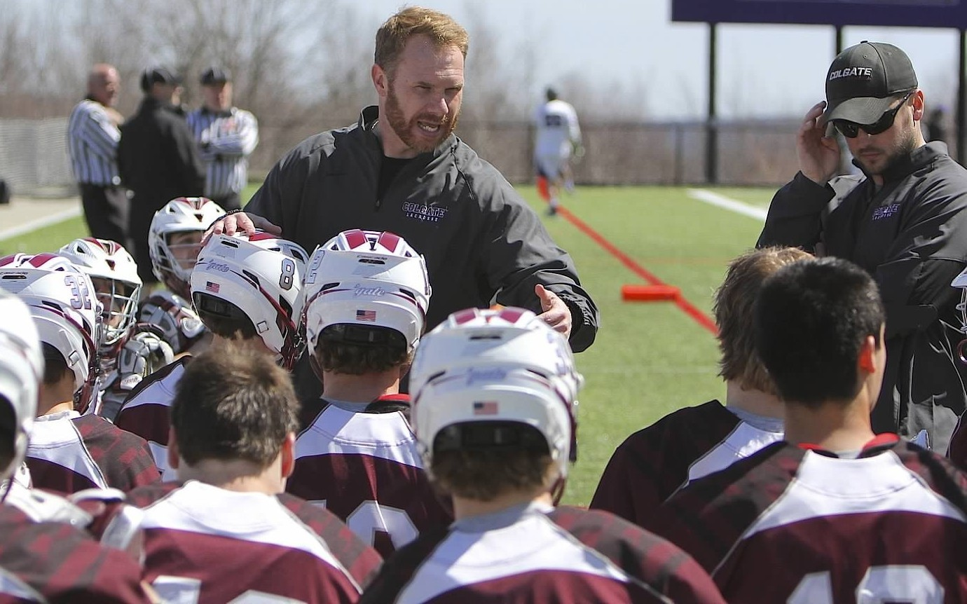 Jesse Rosenblatt (Dawson School) is one of 16 newcomers to the Colgate Mens' Lacrosse team.