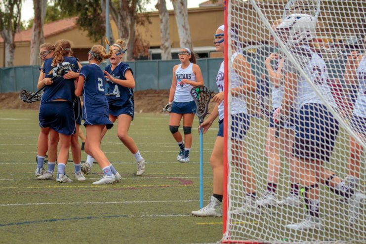 Newport Harbor Girls Lacrosse defeated St. Margaret's in double overtime