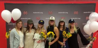 Lauren Gonzales, Madeline Hooks, Grace Houser, Mackenzie Wallevand and Courtney Walburger will play Division 1 women's lacrosse after they graduate in May