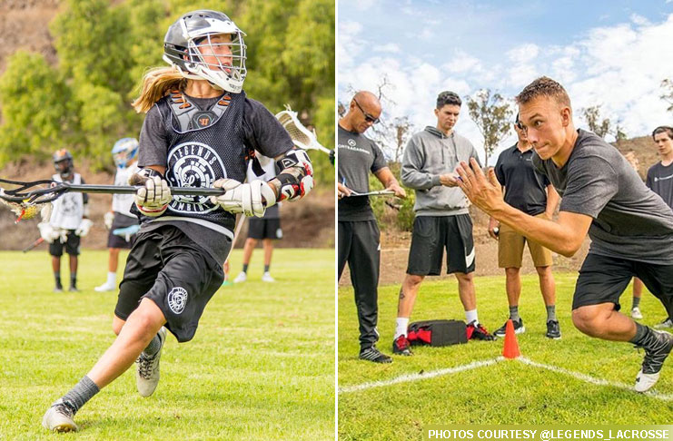 Legends Lacrosse combine