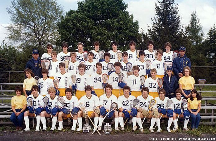 West Genesee Lacrosse 1983