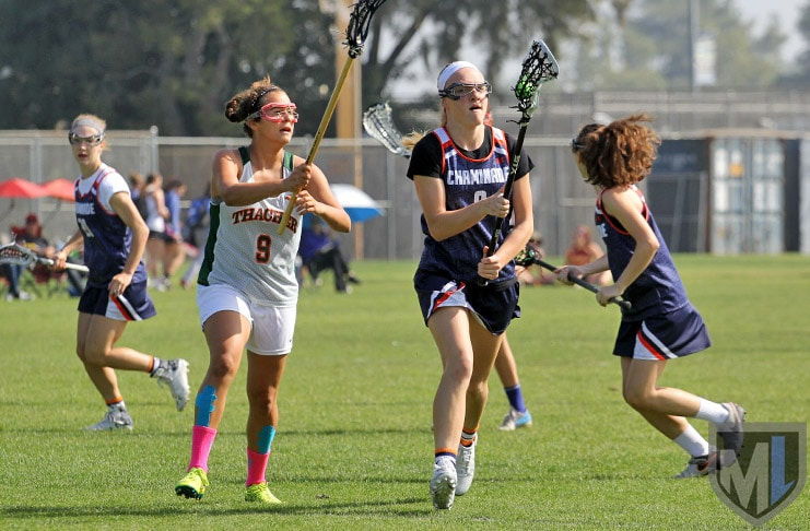 Chaminade girls lacrosse vs. Thacher