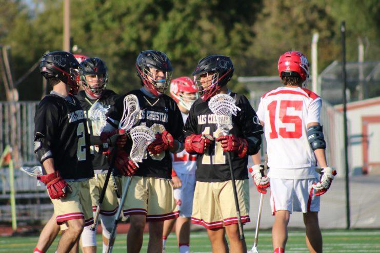 Mater Dei boys lacrosse lost to Oaks Christian boys lacrosse