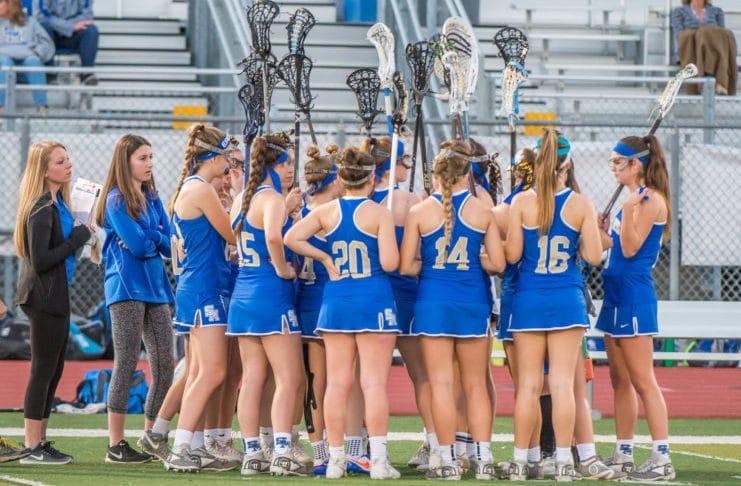 Santa Margarita girls lacrosse