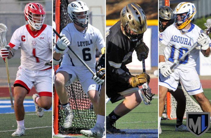 Austin Lowi, Nick Mohler, Sam Torgove, Marty Shargel - 2017 LA Senior All-Star Game